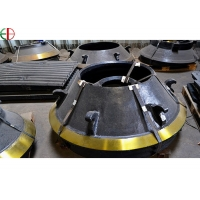 Quality Mn18Cr2 Mantle And Concave High Mn Cone Crusher Spare Parts for sale