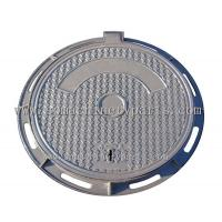 China Single Seal A15 Cast Iron 450mm Diameter Solid Top Manhole Cover & Frame Make In China on sale