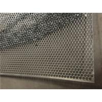 Buy cheap Hexagonal Perforated Metal Sheet , Perforated Galvanized Steel Sheet For Construction from wholesalers