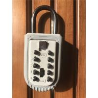Quality High security Push Button Protable Key Lock Box for Real Estate for sale