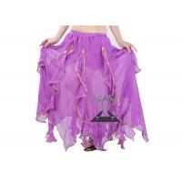 Quality Gypsy Long Belly Dancing Skirts , Belly Dance Stage Performance / Practice Costumes for sale