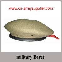 China Wholesale Cheap Military Beret on sale
