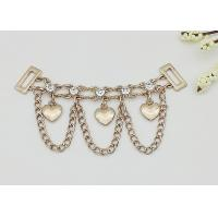 Quality High Heel Shoe Accessories Chains Customized Color Corrosion Resistant for sale
