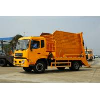 Quality 8cbm 4*2 Garbage Collection Truck Waste Removal Transport Vehicles 6-7t Swept Body for sale