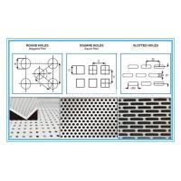 Quality 6061 Rectangular Holes Perforated Aluminum Sheet With 2mm Hole Diameter for sale