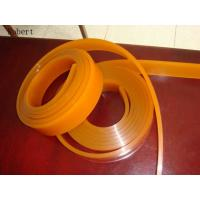 Quality Long Service Life Polyurethane Silk Screen Printing Squeegee For Glass Industry 50mm X 9mm for sale