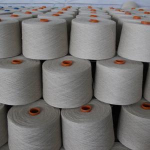 Healthy Virgin Cotton Linen Blend Yarn 30Ne for Knitwear Home Textiles