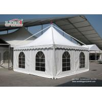 Huge White Canopy Tent 10X10 , Outside Backyard Canopy Tents