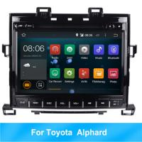 Quality RK Android 8.1 HD car multimedia player car radio For Toyota Alphard GPS BT 2G RAM for sale