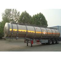 Quality Hydrogen Peroxide Liquid Tanker Loads For Transporting Chemical Liquid for sale