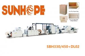 China 25.8kw 762mm Cut Automatic Double Layer Paper Pouch Making Machine on sale