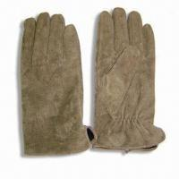 Quality Men's Pig Split Gloves, Lining with TR for sale