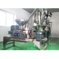 Quality Superfine Stainless Steel Grinding Machine Discharge Powder 100-400 Mesh For Herbal Roots for sale