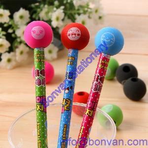 Buy cheap toy gift pencil eraser, pencil topper gift eraser, printed pencil eraser product