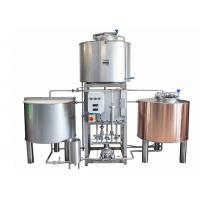 China Dimple Plate Jacket Pilot Brewing System 200L Stainless Stain 304 For Brewing Plant on sale