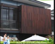 Quality Eco Friendly Bamboo Timber Wall Panels , Exterior Wood Plank Wall Paneling for sale