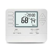 Quality 24V Digital Room Heat Pump Thermostat With Large Digital Display Dual Powered for sale