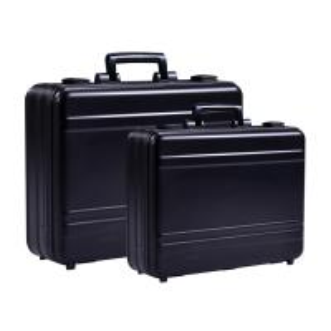 Quality MS-M-01 B Anodize Black Aluminum Briefcase Aluminum Attache Tool Case for sale