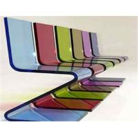 China Decorative Plexiglass Cast Acrylic Sheet For Furniture , 18mm / 20mm Acrylic Sheet on sale
