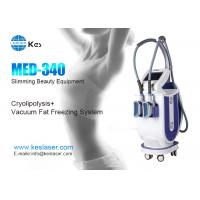 Buy cheap 2 Handles Cryolipolysis Machine , Fat Freezing Weight Loss Machine MED-340 product