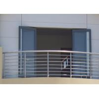 Quality Stable Structural Steel Railing Design For Balcony Practical Decorative Protrusions for sale