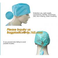 Quality Consumable Products Medical Disposable Cap with low price,Medical Disposable non-woven hospital bouffant cap BAGEASE for sale