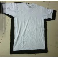China 50,000 pieces cheap solid color short sleeve plus size Men's cotton Tee shirt storage on sale