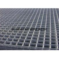 Quality Square Hole Stainless Steel Welded Wire Mesh Panels 2.4m Width Abrasion Resistance for sale