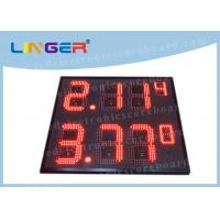 IP65 Frame Outdoor Led Signs Prices Wireless For Highway Service Station