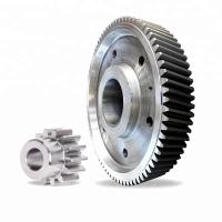 Quality large diameter external spur gear with big module gear, China big gear wheel for sale