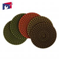 China Marble Granite Diamond Polishing Pads Excellent Service Stable Performance on sale
