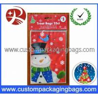 China Red HDPE Plastic Wedding Gift Bags Lovely Biodegradable With Custom Printing on sale