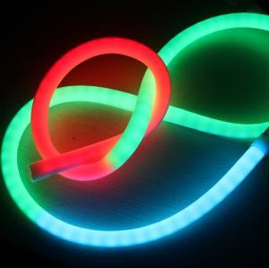 Quality Ultra Thin 24v 360 Degree Mini Led Neon Flex Ip65 Tube Rope Rgb Dmx Lighting For Rooms for sale