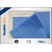 Buy cheap Non - Toxic Disposable Surgical Drapes Armboard Cover With Tape 75X35cm from wholesalers