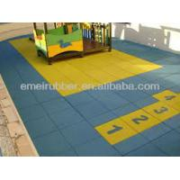 Quality cheaper outdoor rubber floor tiles for sale