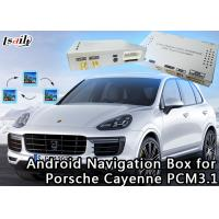 Quality 720P/1080P Car Android Auto Interface GOOGLE MAP Video For Porsche Cayenne for sale