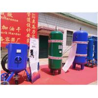 China Large Capacity Vertical Air Receiver Tank With Flange Connector Medium Pressure on sale