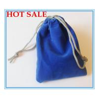 Sewing By Hand Lovely Velvet Drawstring Bag , Satin Drawstring Bag