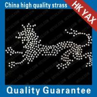 China jx0826 hot fix dog rhinestone motif;hot fix rhinestone dog motif;rhinestone dog motif hot fix on sale