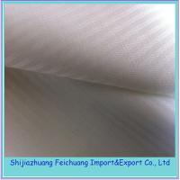 Buy cheap TC herringbone pocket fabric balck or semiwhite from wholesalers