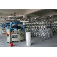 China Double Jersey Circular Weft Knitting Machine For Pure Cotton / Chemical Fiber on sale