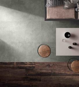 Quality Grey Rough Matte 4.8mm 600x1200 Thin Porcelain Tile for sale