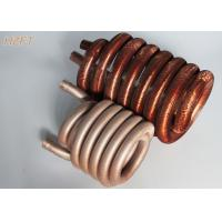 Quality Copper or Copper Nickel Refrigerator Condenser Coil Tin plating outside surface for sale