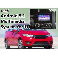 Quality Honda Navigation Video Interface for FIT support WIFI , App , Google Play , Rear View Camera for sale