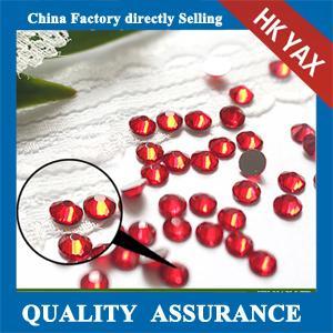 China YAX High quality flatback rhinestone factory, flat back rhinestone wholesale shop; hot selling rhinestone flatback on sale
