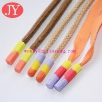 China Jiayamg Shoelace Charm Custom Special Designs Cheap Flat Plastic Clips Shoelace on sale