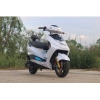 Quality Steel Electric Moped Bike 1500W Brushless DC Motor With 72V 20Ah Lead - Acid Battery for sale