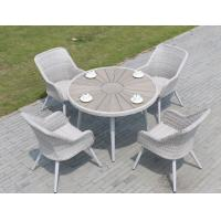 Quality Modern Poly Rattan wicker chair Outdoor Garden furniture sets Coffe table chair for sale