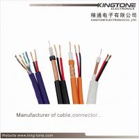 Buy cheap RG59 Micro CCTV Coaxial Cable 95% CCA Braiding CCA Siamese Cable product