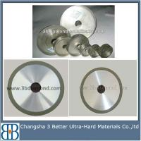 China Diamond & CBN electroplated plastic grinding wheel on sale